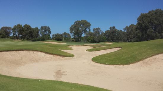 Golf_Getaway_Meadow_Springs_Golf_Club_18th_Hole_Fairway_Bunker