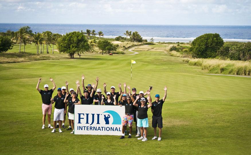 Golf Getaway Axe Fiji International