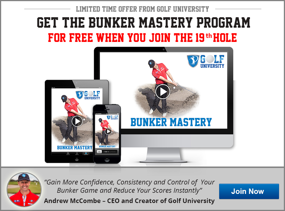 Golf University Bunker Mastery Program