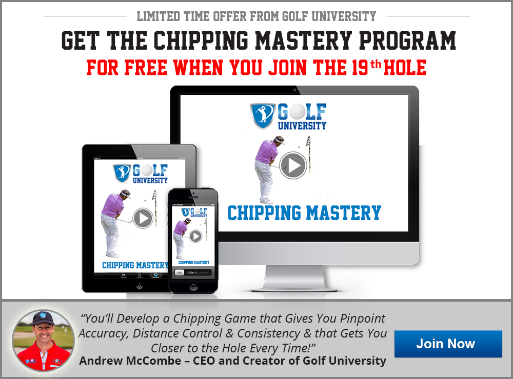 Golf University Chipping Mastery Program