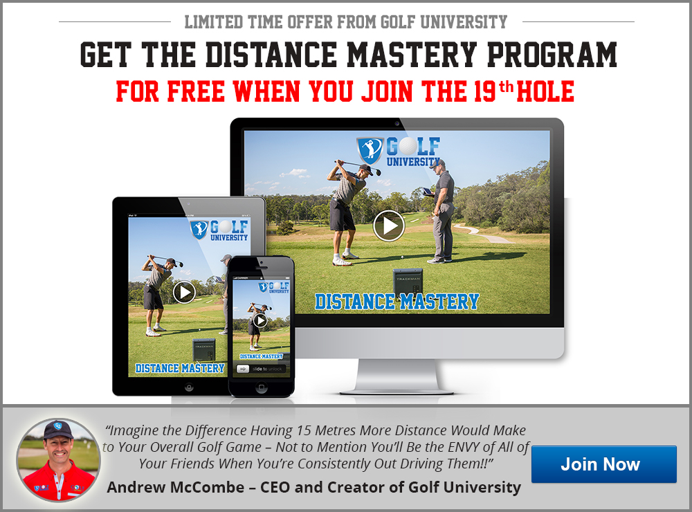 Golf University Distance Mastery Program