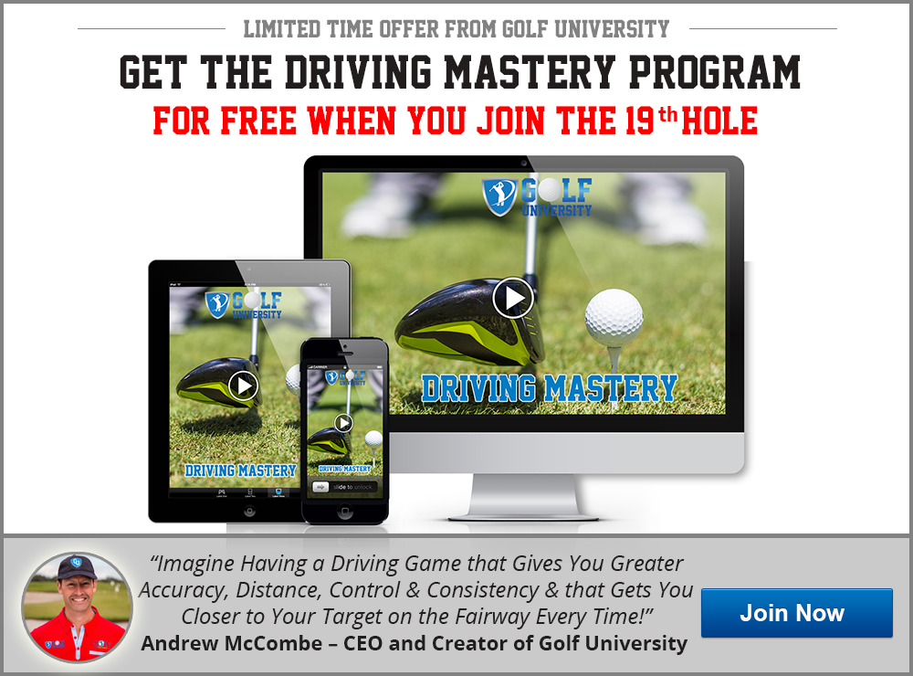 Golf University Driving Mastery Program