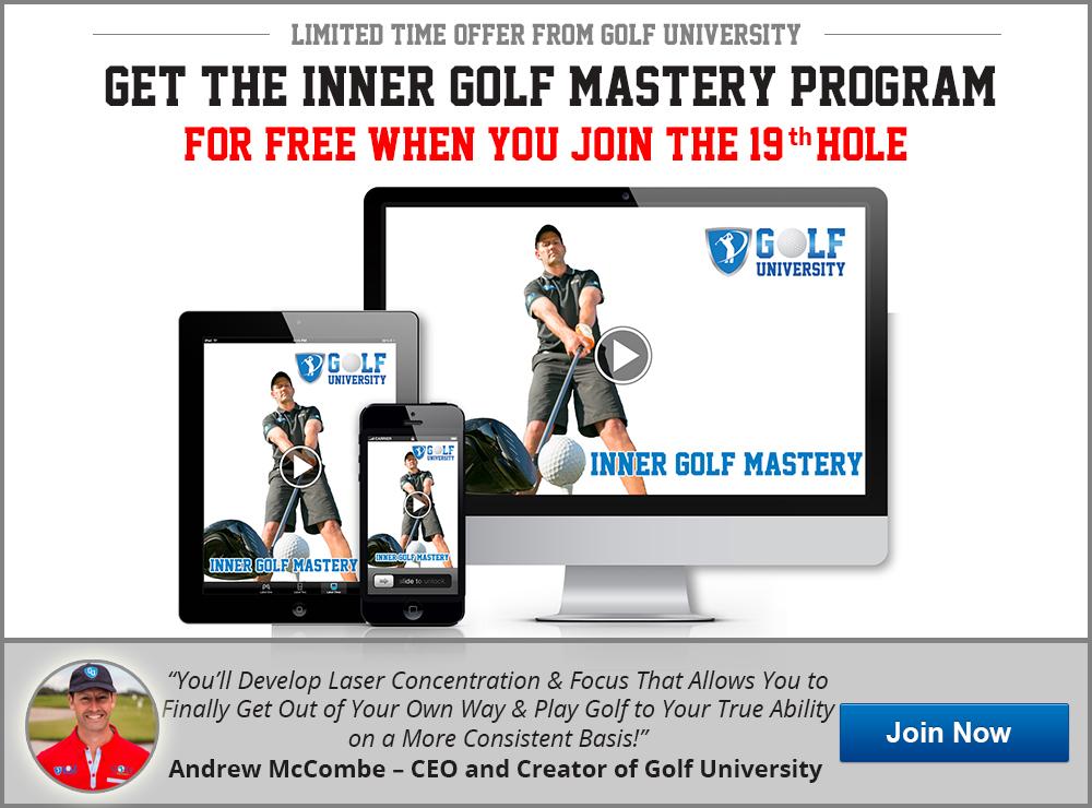 Golf University Inner Golf Mastery Program