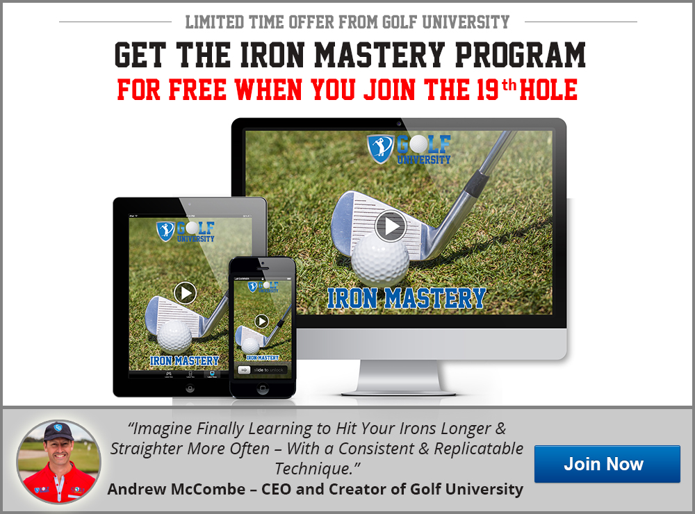Golf University Iron Mastery Program