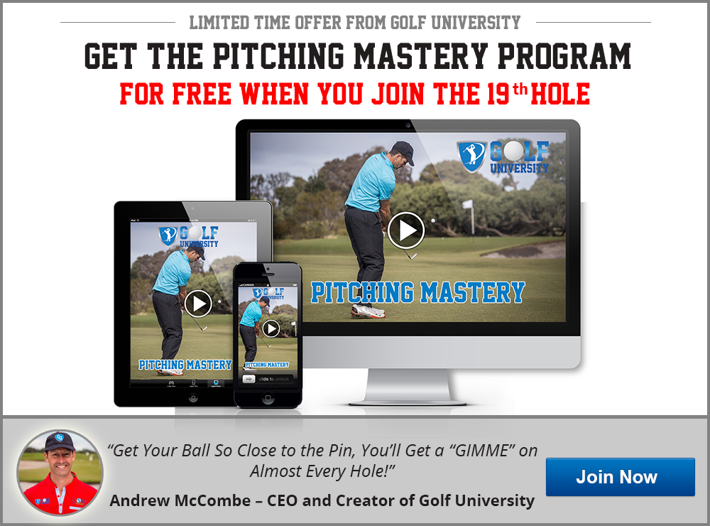 Golf University Pitching Mastery Program