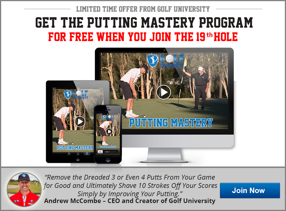 Golf University Putting Mastery Program