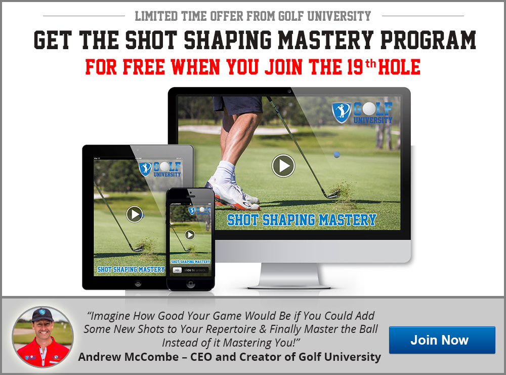 Golf University Shot Shaping Mastery Program