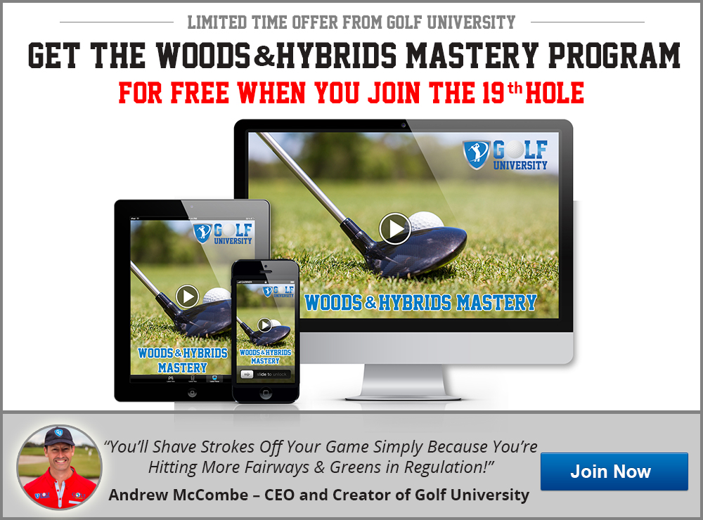 Golf University Woods Hybrids Mastery Program