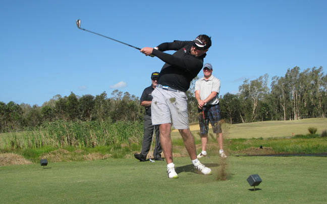 Australian-Golf-Digest-Editor-Brad-Clifton-at-Kooindah-Water
