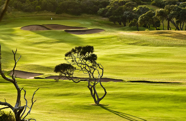 Golf Getaway Portsea Golf Club 18th Hole from 2nd hole