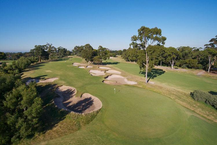 Golf University Workshop Tournament Victoria Golf Club Image 6th Hole